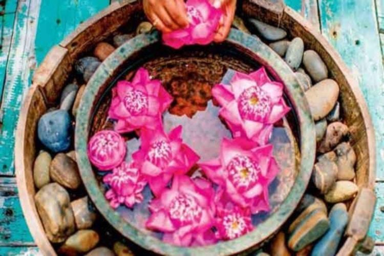 Photo du massage ayurvédique